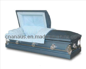 American Style 20 Ga Steel Casket (2051014) pictures & photos