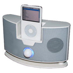 Docking Mobile Phone Speaker for iPod (HS-201)