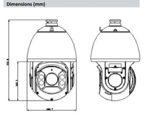 Dahua 4MP 30X PTZ Hdcvi CCTV Digital Video Camera (SD6C430I-HC) pictures & photos