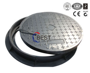 FRP Reinforce Fiber Glass Seal Manhole Covers pictures & photos