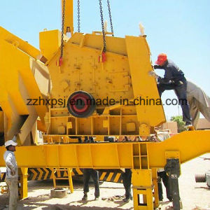 Mobile Impact Crushing Plant /Mobile Impact Crusher pictures & photos