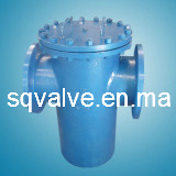 Basket Type Strainer in Flange End