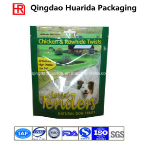 Stand up Plastic Pet Food Bag with Ziplock pictures & photos