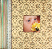 DIY Paper Scrapbooking Album with Frame pictures & photos
