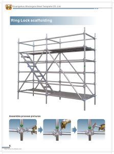 Guangzhou (Construction Scaffolding) Types of Scaffolding Construction Steel Ringlock Scaffolding for Sale pictures & photos