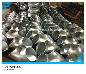 Hot Galvanized Butt Weld Carbon Steel Pipe Fittings Elbow pictures & photos