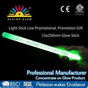 Logo Printed Glow Stick, L′arc~En~Ciel Printing Glow Stick, Promotional Toy pictures & photos