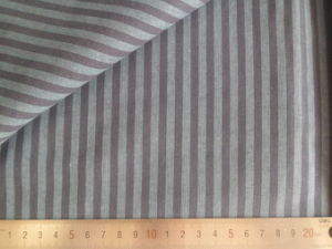 Brown/Grey Stripes 125GSM 100% Cotton Yarn Dyed Fabric pictures & photos