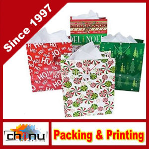 Large Bright Christmas Gift Bag (210229) pictures & photos
