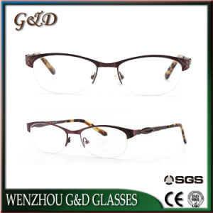 Newest Ladies Model Stainless Eyewear Optical Glasses Frame pictures & photos