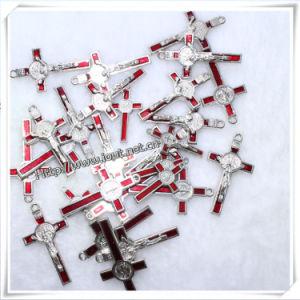 Catholic Religous Necklace Cross Pendants Metal Crucifixes (IO-ap181) pictures & photos