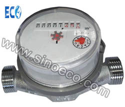 Single Jet Dry Dial Cold/Hot Water Meter with Pulse Optional pictures & photos