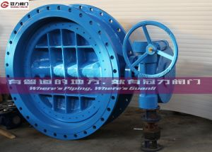 Wcb Ductile Iron Stainless Steel Triple Offset Butterfly Valve pictures & photos