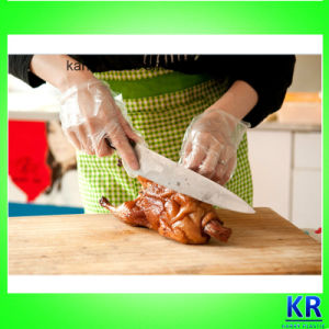 Clear HDPE Gloves Using in Garden, Kitchen, Medical, Hair-Dying pictures & photos