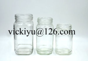 Glass Coffee Jars, Glass Honey Jar, Glass Food Jar