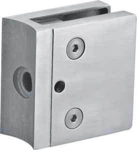 Hot Sale Stainless Steel Square Glass Clamp for Railing pictures & photos