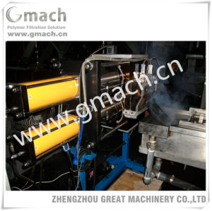 Plastic Recycling Pelletizing Line/Continuous Screen Changer pictures & photos