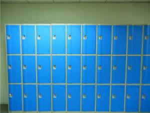 3 Door Gym Locker Made of ABS Plastic pictures & photos