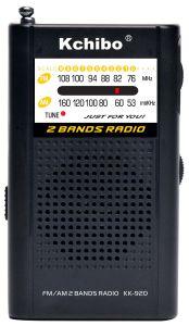Am/FM (2 band) Radio with Kchibo