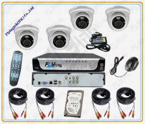 CCTV H.264 4CH Network DVR Camera (FR04-A3401P)