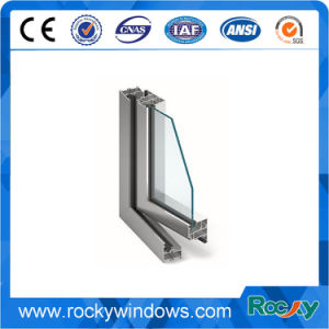 Rocky Flat Mill Finish Anodized Aluminium Profile for Decoration pictures & photos