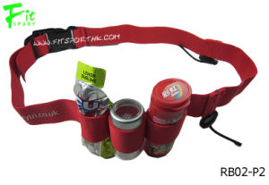 Elastic Custom Race Belt with Gel Holders (Style No.: RB02-P2)