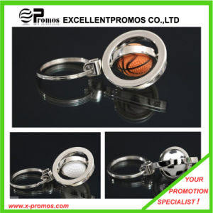 Promotion Hot Sales Custom Metal Basketball Keychain (EP-K82924) pictures & photos