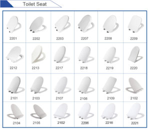 Elongated and Slimed Toilet Seat Cover pictures & photos