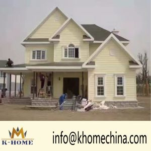 50 Years Long Life Span Steel Fabrication Small Family Villa Prefab Housing pictures & photos