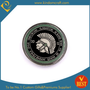 Spqr Logo Pin Badge with Printed in Competitive Price From China pictures & photos