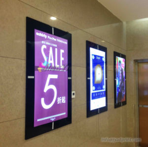 Aluminum Frame LED Backlit Transparency Advertising Lightbox With Printing pictures & photos