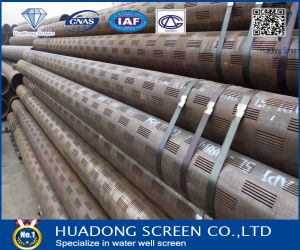 10% Open Area 2.0*100mm Slot Slotted Casing Pipe Filter pictures & photos
