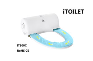 Remote Controller Sanitary Hygenic Toilet Seat for Public Washroom