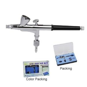 2cc 0.2mm 0.3mm Dual-Action Airbrush Gun Gravity Paint Tattoo Pr-136 pictures & photos