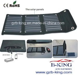 Portable Folding Solar Panel Power Bank pictures & photos