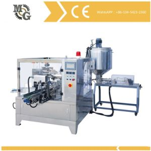 Rotary Pre-Made Bag Juice Sauce Filling Packing Machine pictures & photos