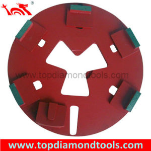 Diamond Grinding Disc for Grinding Concrete with Redi Lock System pictures & photos