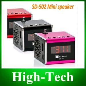 2014 Newest Original Lowest Price Original Hi-Rice Portable Mini Speaker SD-502 Mini Sepeaker