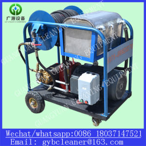 Gy-85/200 High Pressure Cleaning Equipment Diesel Engine Sewer Tube Cleaner Machine pictures & photos