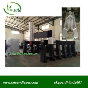 5 Axis CNC Stone Marble Engving Machine with 10kw Hsd Spindle pictures & photos