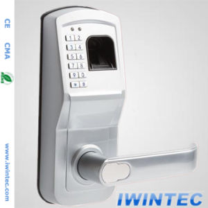 Hot Sales Fingerprint & Keypad Lock (V6800FP-SS) pictures & photos