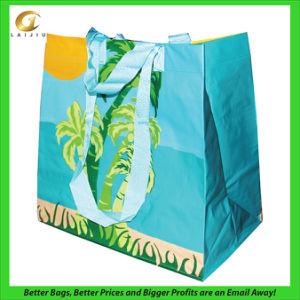 China Reusable Plastic Shopping Bag, with Custom Design (14102101 ...