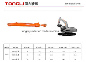 Dh225 Doosan Excavator Boom Cylinder From China/ Dh225 Excavator Parts / Hydraulic Cylinder From China pictures & photos