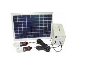 100W off Grid Solar Lighting System Portable Solar System pictures & photos