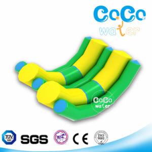 Water Park Equipment Inflatable Double Rocker LG8037