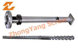 Single Screw and Barrel for Film Blowing Machine (24/52, 35/76, 45/90, 50/105) pictures & photos
