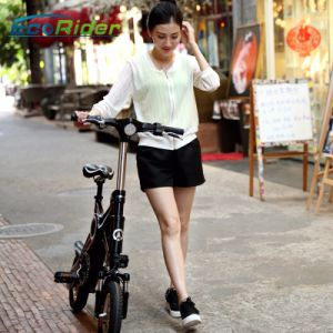 Ecorider 36V Folding Electric Bike with Removable Battery pictures & photos