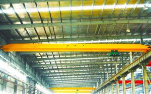 Warehouse Building Single Girder 1 Ton Bridge Crane pictures & photos