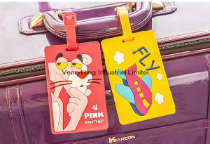 Guangzhou Factory Hot Sales 3D Luggage Tag for Gift pictures & photos