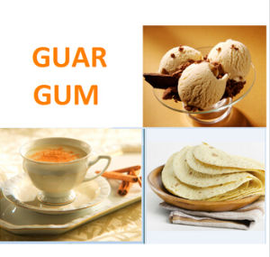 Viscosity 5500-6000cps Food Additive Guar Gum pictures & photos